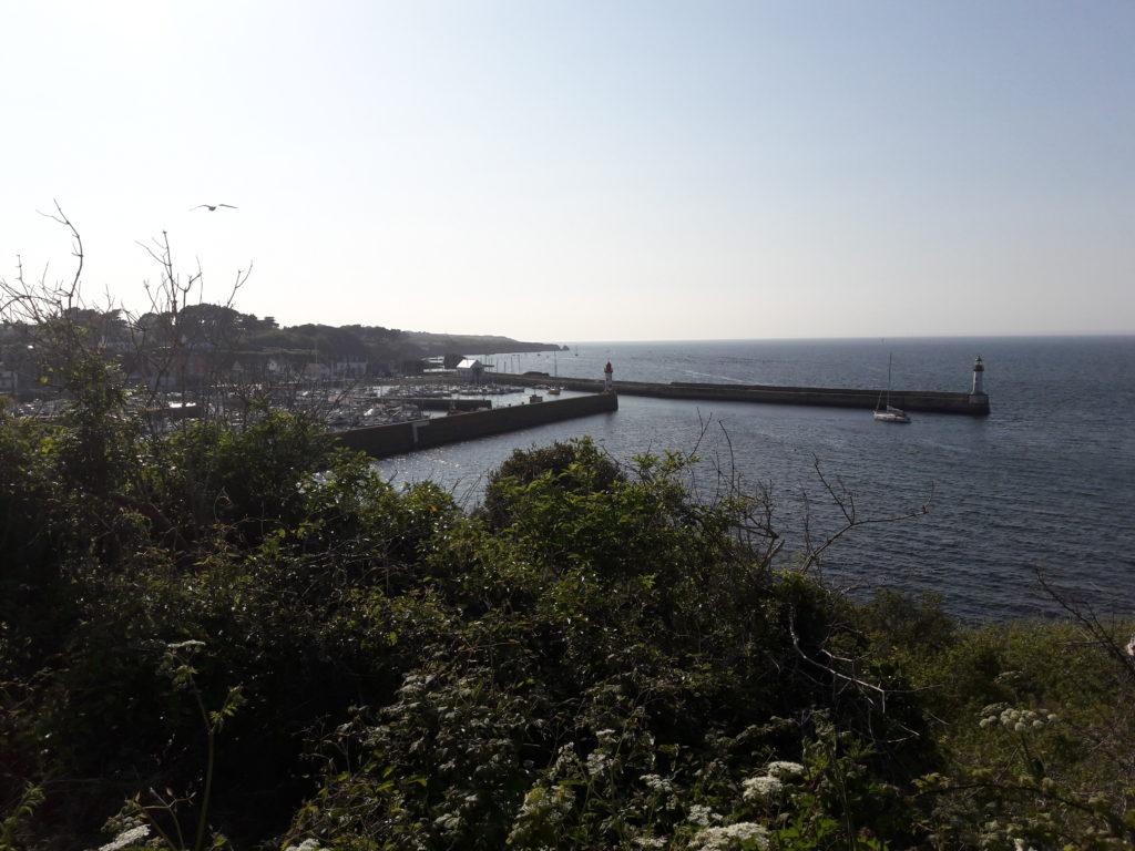Vue sur Port Tudy