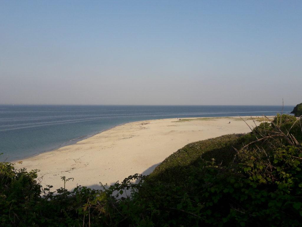 La plage des Grands Sables